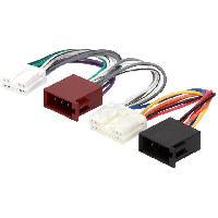 Fiche ISO Volvo Fiche Autoradio 24PIN vers ISO - 850 940 960 S40 V40