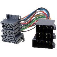 Fiche ISO installation autoradio Adaptateur ISO AI3626 vers Mini ISO compatible avec Opel
