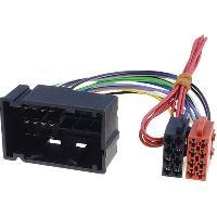 Fiche ISO installation autoradio Adaptateur ISO AI67 Autoradio compatible avec Alfa Romeo Fiat Dodge Jeep Lancia