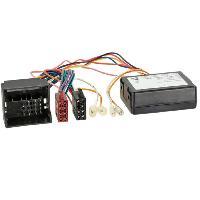 Fiche ISO installation autoradio Adaptateur ISO AIPF15 compatible avec Porsche Fakra - Apres contact Canbus