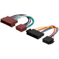 Fiche ISO installation autoradio Adaptateur ISO Autoradio AI3 pour FORD JAGUAR MAZDA SEAT av03 - ADNAuto