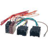 Fiche ISO installation autoradio Adaptateur ISO Autoradio AI65 Saab 9-3 ap06 - ADNAuto