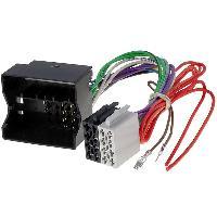 Fiche ISO installation autoradio Adaptateur ISO Autoradio pour Mercedes CLS W219 E W211 SLK R171 - ADN-AI - ADNAuto