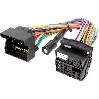 Fiche ISO installation autoradio Adaptateur Quadlock compatible avec vehicule avec STARTSTOP
