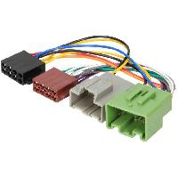 Fiche ISO installation autoradio Adaptateur autoradio ISO AI70 compatible avec Opel Insignia ap13
