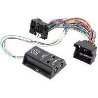 Fiche ISO installation autoradio Adaptateur compatible avec ajout amplificateur sur systeme origine - Fakra 2 canaux compatible avec BmW Ford Mercedes Seat Skoda VW