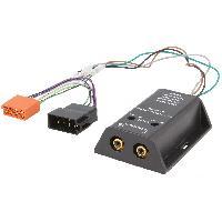 Fiche ISO installation autoradio Adaptateur compatible avec ajout amplificateur sur systeme origine - ISO 2 canaux - ADN-LT
