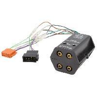 Fiche ISO installation autoradio Adaptateur compatible avec ajout amplificateur sur systeme origine - ISO 4 canaux
