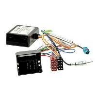 Fiches Audi Adaptateur ISO pour Audi VW Seat Skoda ap03 - Fakra - Apres contact Canbus + Booster Antenne FakraDin