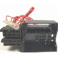Fiches Citroen Fiches ISO Autoradio pour Citroen C6 4HP - ISO Fakra - MID