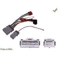 Fiches Hummer Fiches ISO Autoradio pour HUMMER H2 03-08 H3 05-10 SANS AMPLI 4HP ISO