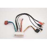 Fiches Kia Fiche ISO autoradio pour Kia ap17 vers ISO USB RCA Jack - ADNAuto