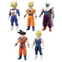 Figurine - Personnage Miniature DRAGON BALL Pack 5 Figurines Dragon Ball Z