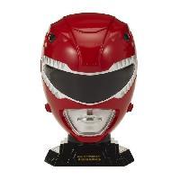 Figurine - Personnage Miniature POWER RANGERS Casque Collector Echelle 14 Ranger Rouge