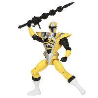 Figurine - Personnage Miniature POWER RANGERS Figurine 12 cm - Ninja Steel Jaune Mode Maitre Ninja