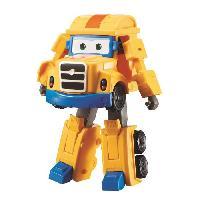 Figurine - Personnage Miniature SUPER WINGS Transforming POPPA WHEEL 12 cm - Saison 2