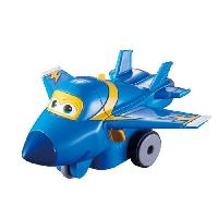 Figurine - Personnage Miniature SUPER WINGS Vroom'n'Zoom - Avion JEROME a friction 8 cm