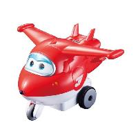 Figurine - Personnage Miniature SUPER WINGS Vroom'n'Zoom - Avion JETT a friction 8 cm