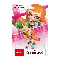 Figurine De Jeu Amiibo Collection Super Smash Bros - Fille Inkling - Nintendo