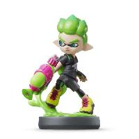 Figurine De Jeu Amiibo Splatoon - Garçon Inkling Vert Néon Collection Splatoon - Nintendo