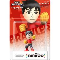 Figurine De Jeu Figurine Amiibo Boxer Mii Collection Super Smash Bros N°48 - Nintendo