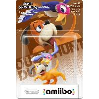 Figurine De Jeu Figurine Amiibo Duo Duck Hunt Collection Super Smash Bros N°47 - Nintendo