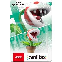 Figurine De Jeu Figurine Amiibo N°66 Plante Piranha Collection Super Smash Bros - Nintendo