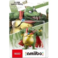 Figurine De Jeu Figurine Amiibo N°67 King K. Rool Collection Super Smash Bros - Nintendo