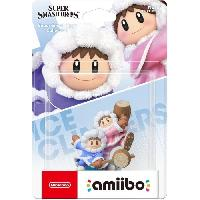 Figurine De Jeu Figurine Amiibo N°68 Ice Climbers Collection Super Smash Bros - Nintendo