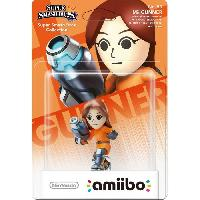 Figurine De Jeu Figurine Amiibo Tireuse Mii Collection Super Smash Bros N°50 - Nintendo