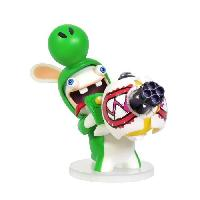 Figurine De Jeu Figurine Mario + The Lapins Crétins Kingdom Battle - Yoshi 8cm - Ubisoft