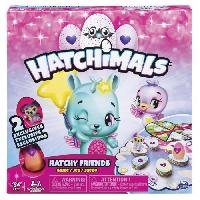 Figurine Miniature - Personnage Miniature SPIN MASTER GAMES -Hatchimals Hatchy Friends Game - Jeu de societe - Aucune