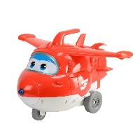 Figurine Miniature - Personnage Miniature SUPER WINGS Playset Avion Jett's Takeoff Tower + 1 figurine Jett Pop-Transform - Audley