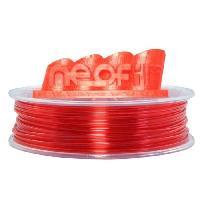 Fil Pour Imprimante 3d Filament pour Imprimante 3D PET-G - Rouge Transparent - 1.75 mm - 750g
