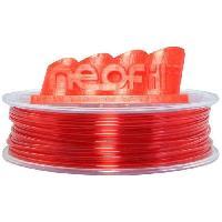 Fil Pour Imprimante 3d NEOFIL3D Filament pour Imprimante 3D PET-G - Rouge Transparent - 2.85 mm - 750g