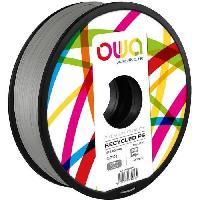 Fil Pour Imprimante 3d OWA Bobine de Filaments pour imprimante 3D - PS- Gris