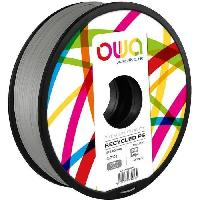 Fil Pour Imprimante 3d OWA Bobine de Filaments pour imprimante 3D - PS- Gris - Armor