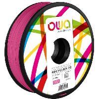 Fil Pour Imprimante 3d OWA Bobine de Filaments pour imprimante 3D - PS - Rose