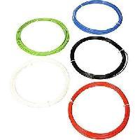 Fil Pour Imprimante 3d Pack echantillons de Filament pour Imprimante 3D PLA - Blanc. Noir. Bleu. Vert. Rouge 2.85mm - 5 X 50g