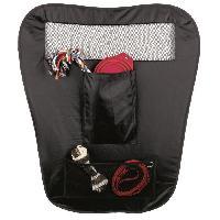 Filet - Grille  De Protection Cloison pliable pour voiture - 60 et 44x69cm - Noir - Pour chien