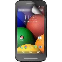 Film De Protection BLUEWAY Lot de 2 proteges-écran  pour Motorola Moto E - Transparent