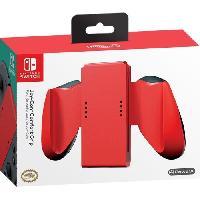 Film De Protection Ecran POWER A Support Joy-Con - Rouge - Nintendo Switch - Boîtier léger et ergonomique avec des poignées confortable
