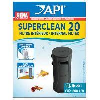 Filtration - Pompe API Filtre intérieur New Superclean 20 Rena - Pour aquarium