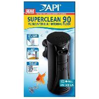 Filtration - Pompe API Filtre intérieur New Superclean 90 Rena - Pour aquarium