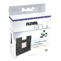 Filtration - Pompe FLUVAL 2 Plaquettes de mousse pour aquariums Shui