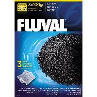 Filtration - Pompe FLUVAL Lot de 3 charbons 100 g - Pour aquarium