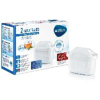 Filtre Pour Carafe Filtrante BRITA Pack de 2 cartouches MAXTRA+ pour carafes filtrantes