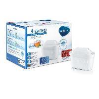 Filtre Pour Carafe Filtrante BRITA Pack de 4 cartouches MAXTRA+ pour carafes filtrantes