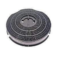 Filtre Pour Hotte Filtre a charbon rond Ø 235 x H 35 mm - Generique