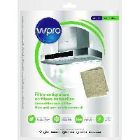 Filtre Pour Hotte WPRO NGF221 Filtre antigraisse universel en fibres naturelles de lin - 220g-m2 47 x 117 cm - hyper absorbant et ecologique